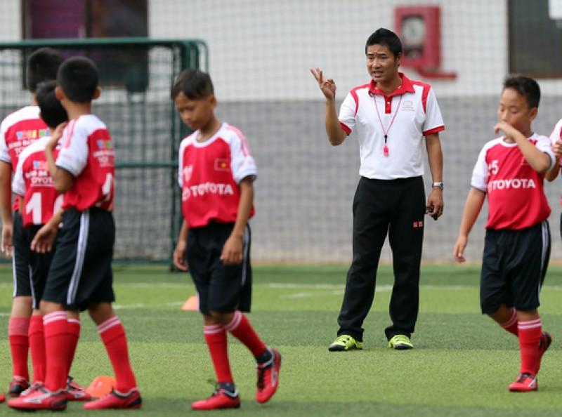 Bóng đá Việt Nam đang phát triển tốt