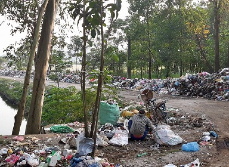 Hàng ngàn hộ dân chịu cảnh ô nhiễm: Chỉ vì rác thải ùn ứ