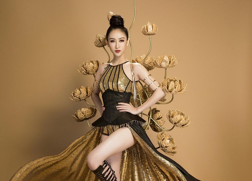 Hà Thu được kỳ vọng tiến sâu vào vòng chung kết Hoa hậu Trái đất