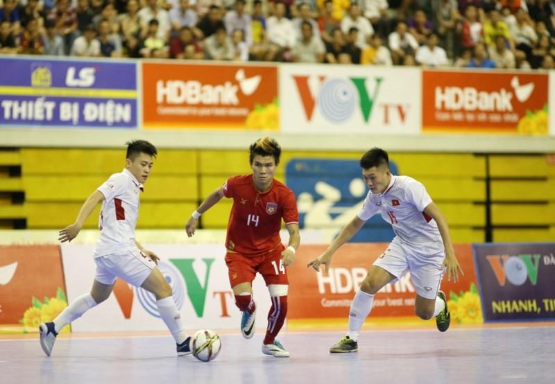 Đội tuyển Futsal Việt Nam thất bại trong trận tranh giải 3