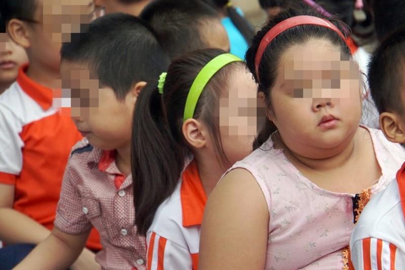 Tỷ lệ trẻ béo phì ở Việt Nam tăng chóng mặt