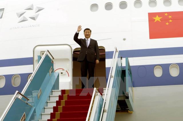 Tổng Bí thư - Chủ tịch Trung Quốc Tập Cận Bình rời Hà Nội