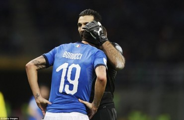 Người Ý chính thức dự World Cup 2018 'qua tivi'