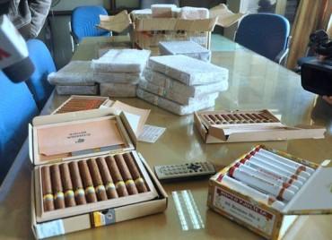 Hà Nội: Phát hiện nhiều thuốc lá, xì gà không rõ nguồn gốc