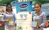 Sản phẩm sữa các loại của Vinamilk ra mắt người tiêu dùng Trung Quốc tại hội chợ nhập khẩu quốc tế Trung Quốc lần thứ nhất (CIIE 2018)