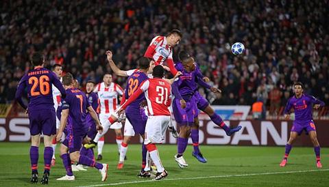Crvena Zvezda 2-0 Liverpool: Địa chấn ở Belgrade