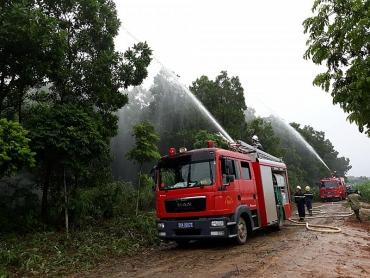 Đẩy mạnh phòng cháy chữa cháy rừng mùa khô hanh