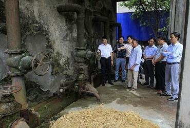 Huyện Mê Linh: Đẩy nhanh tiến độ các dự án nước sạch