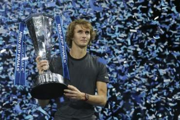 Hạ Djokovic, Zverev lần đầu vô địch ATP Finals