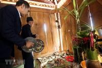 Hòa mình vào lễ hội Pang Phóong của dân tộc Kháng ở Điện Biên