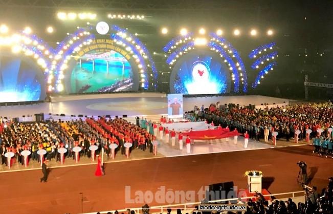 Khai mạc Đại hội Thể thao toàn quốc lần thứ VIII - 2018