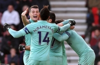 Bournemouth 1-2 Arsenal: Tìm lại niềm vui chiến thắng