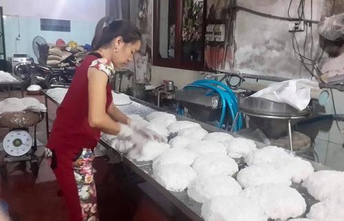 """Làng nghề bún Phú Đô: """"Trung tâm"""" bún của Thủ đô"""