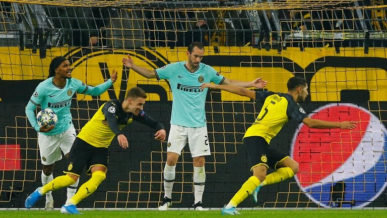 Dortmund 3-2 Inter Milan: Ngược dòng ngoạn mục