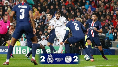 Real Madrid 2-2 PSG:
