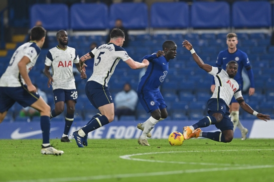 Chelsea 0-0 Tottenham: Bất phân thắng bại