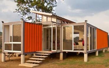 Ngắm những ngôi nhà được thiết kế từ container