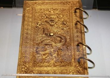 Bảo vật hoàng cung triều Nguyễn trở về Huế sau hơn nửa thế kỷ