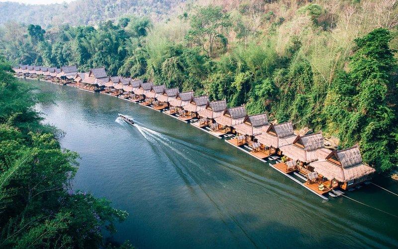 """Những khách sạn giúp du khách """"Ngủ trên mặt nước"""" đẹp như một giấc mơ"""