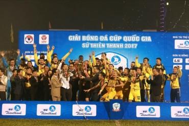Sông Lam Nghệ An vô địch Cúp Quốc gia 2017