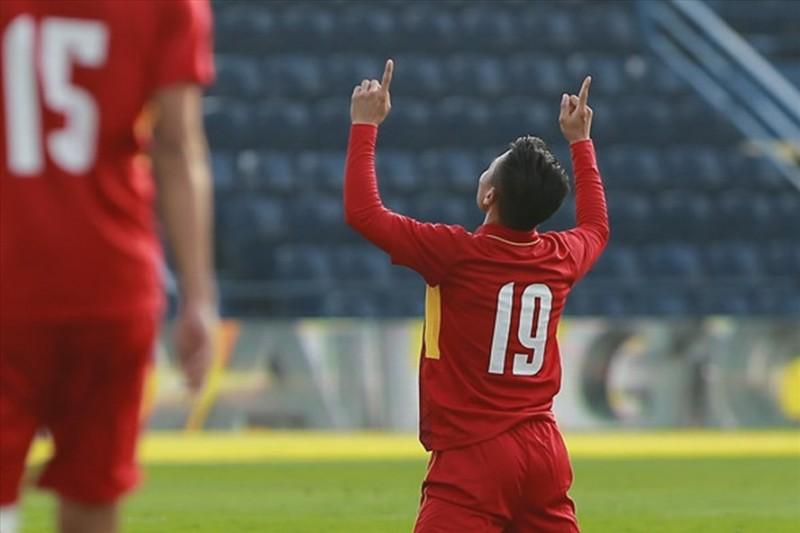 U23 Việt Nam thắng lớn ở trận mở màn M150 Cup