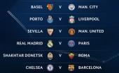 Real đụng độ PSG, Chelsea gặp Barca