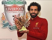 Mohamed Salah đoạt giải Cầu thủ xuất sắc nhất châu Phi năm 2017
