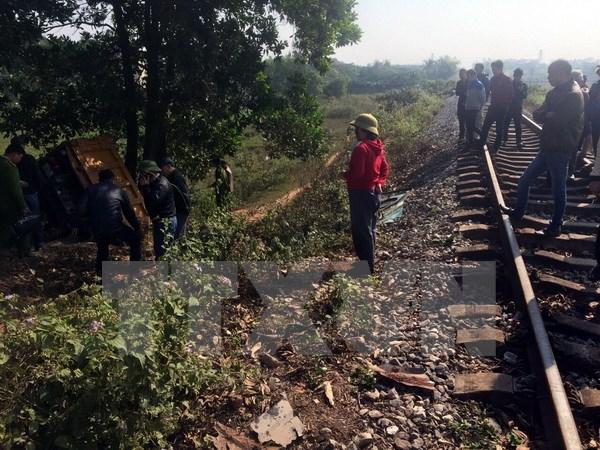 Hải Dương: Tai nạn giao thông đường sắt, một người thiệt mạng