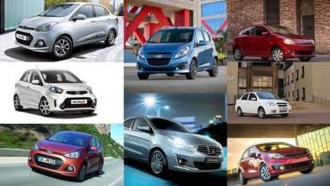 'Xế hộp' về giá dưới 300 triệu đồng: Các hãng xe nhỏ bung hàng, kiếm khách mùa Tết