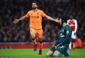 Arsenal 3-3 Liverpool: Rượt đuổi mãn nhãn