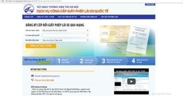 Hà Nội bắt đầu cấp giấy phép lái xe trực tuyến mức độ 4