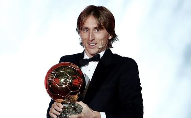 Modric giành Quả bóng Vàng 2018, phá vỡ sự thống trị của Messi và Ronaldo