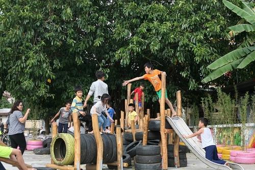 Chung tay xây dựng sân chơi cộng đồng cho trẻ