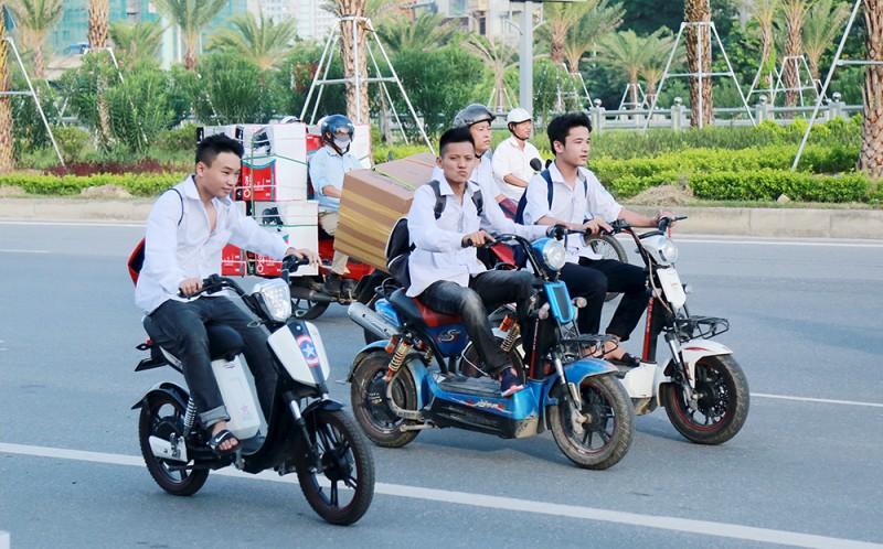 Nguy hiểm tiềm ẩn từ xe đạp điện