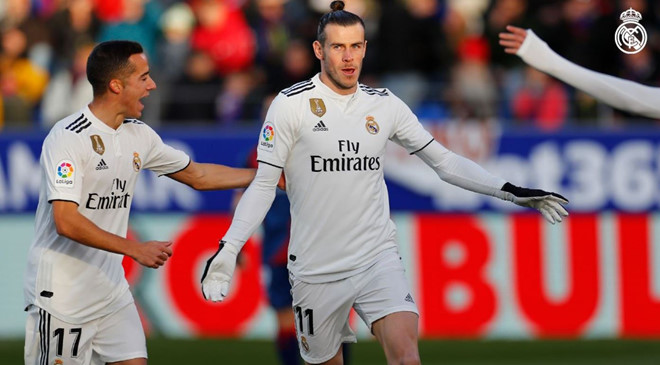 Huesca 0 -1 Real Madrid: Gareth Bale lập công, Real nhọc nhằn hạ đội bét bảng