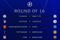 Kết quả bốc thăm vòng 1/8 Champions League: Đại chiến Anh - Đức