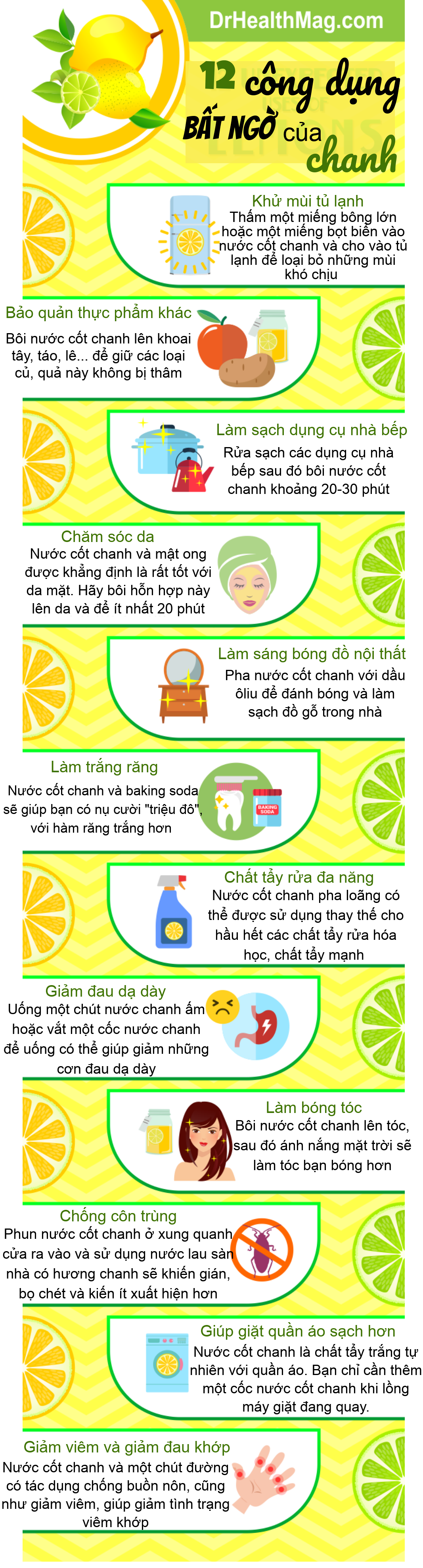 infographics 12 cong dung vo cung huu ich cua chanh