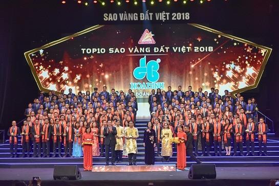 Giải thưởng Sao Vàng đất Việt 2018: Khẳng định chất lượng những công trình xây dựng