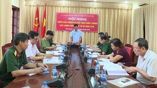 Phú Xuyên tổ chức triển khai kế hoạch Hội thao Quốc phòng