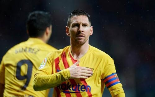 Atletico Madrid 0-1 Barcelona: Chỉ cần Messi là đủ