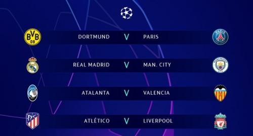 Vòng 1/8 Champions League: Real Madrid đại chiến Man City