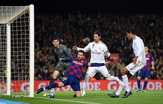 Barcelona 0-0 Real Madrid: Bất phân thắng bại