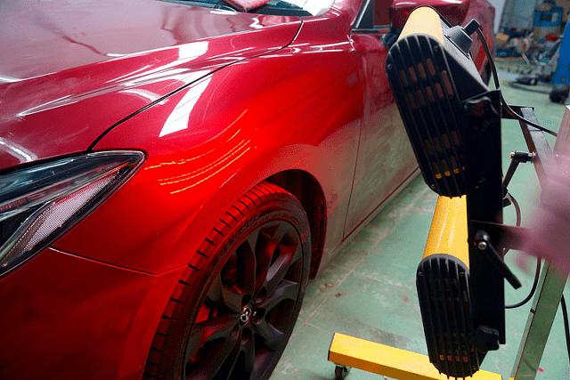 Ôtô bị trầy xước xử lý thế nào?