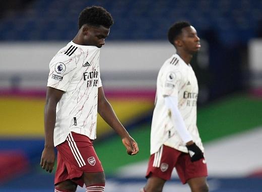 Everton 2-1 Arsenal: Chìm sâu trong khủng hoảng