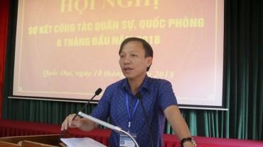 Huyện Quốc Oai:  Lực lượng vũ trang luôn sẵn sàng chiến đấu
