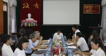 Kỳ họp thứ 10 HĐND huyện Quốc Oai: Thảo luận nhiều vấn đề cử tri quan tâm