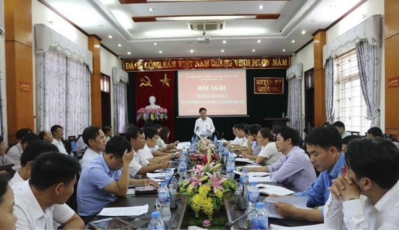 Quốc Oai: UBMTTQ huyện sẽ giám sát các tuyến đường kiểu mẫu