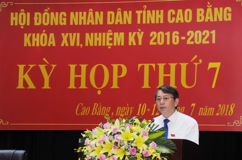 Cao Bằng: Kỳ họp thứ 7 HĐND tỉnh khóa XVI kết thúc thành công tốt đẹp