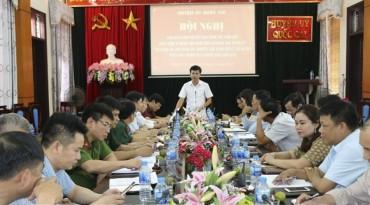 Quốc Oai: Đánh giá công tác phối hợp của Ban Dân vận Huyện ủy