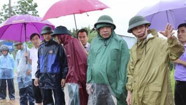 Huyện Quốc Oai:  Kiểm tra công tác phòng chống thiên tai